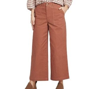 Universal Thread High Rise Wide Leg Cropped Jeans